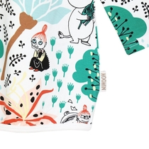 Moomin children Magic Forest tunic, off-white