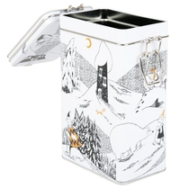Moomin coffee tin can, Polar bear