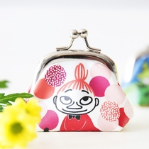 Moomin coin purse, Little My and Dots