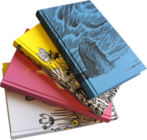 Moomin domestic notebook, Field of flowers, yellow