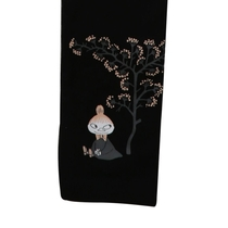 Moomin fruit farm leggings, black