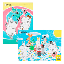 Moomin jigsaw puzzle set 2 x 20 pieces