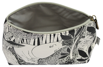 "Moomin make up bag, ""Moomintroll day dreaming"""