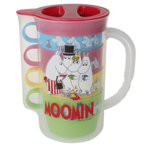 Moomin picnic pitcher with 4 mugs set