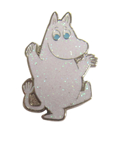 Moomin pin badge, Moomintroll
