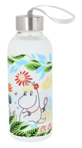 Moomin silicone water bottle, Meadow