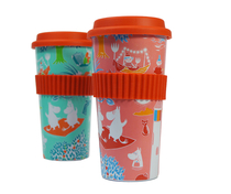 Moomin takeaway mug, 500ml, Retro Pink