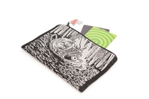 Moomin tapestry pouch/ purse, Little My in the Basket