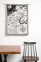 Moomin tapestry/ tablecloth 68x92cm, Moominland Midwinter