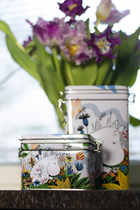Moomin tea caddy, Meadow