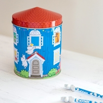 Moomin tin jar, Moomin house