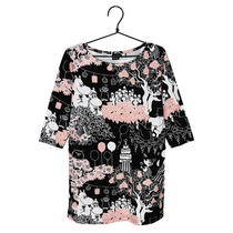 Moomin women's Time for Celebration tunic, black