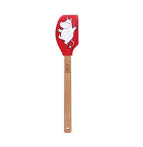 Moomintroll silicone spatula and cookie cutter -set