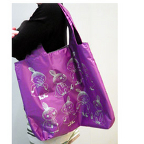 Muumi Eco Bag Purple Litlle My