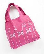 Muumi Eco Bag fuksia Hattivatit