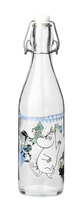Muurla Moomin Glass Bottle 0.5l Spring party