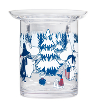 Muurla Moomin Winter forest candle holder, 10cm