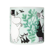 Muurla Moomin candle In the Garden, 8cm