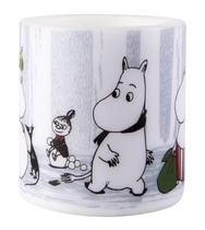 Muurla Moomin candle Winter Trip 8cm, light