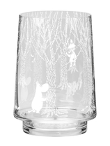 Muurla Moomin candle holder / vase, 20 cm, In the Woods