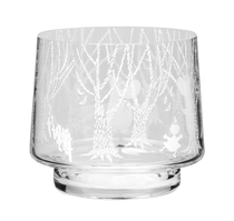 Muurla Moomin candle holder In the Forest, 8cm
