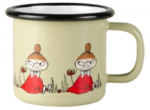 Muurla Moomin enamel mug Friends, Little My, 1,5dl