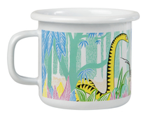 Muurla Moomin enamel mug Moomins in a Jungle 2,5dl