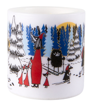 Muurla Moomin winter forest candle8cm