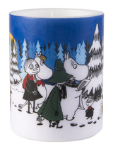 Muurla Moomin winter forest candle 12cm
