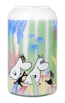 Muurla Moomins in a Jungle vase, 12cm
