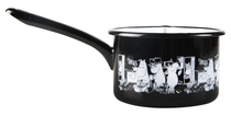 Muurla Moomins in the Kitchen enamel saucepan 0,8L