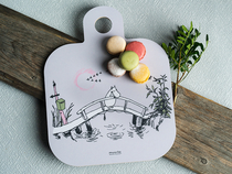 Muurla serving board Missing you, 25X32cm, two-sided