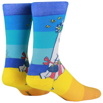NVRLND adults' Moomin socks, Moominmamma at the Beach