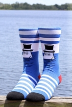 NVRLND adults' Moomin socks, Moominpappa