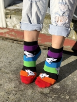 NVRLND children's socks, Stripes