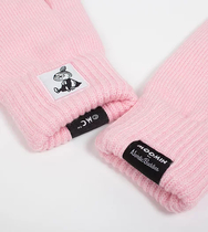 NordicBuddies Little My adults' gloves, light pink