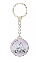 Nordicbuddies Moomins love keyring, light pink