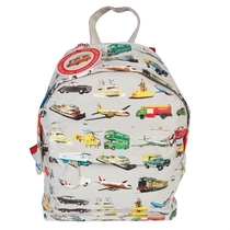Old cars, children's club or pre-school backpack