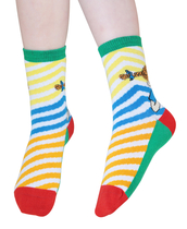 Pippi Longstocking Happy Pippi children's socks 2pcs