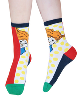 Pippi Longstocking Hilarious children's socks 2pcs