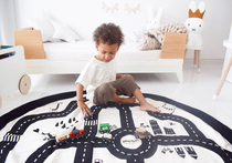 Play&Go Children's carpet play mat / toy bag Map of the City
