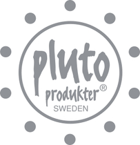 Pluto Produkter canvas storing basket 30cm, City, black/white