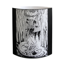 Pluto Produkter little nightlight Moomintroll and Little My, two-sided