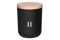 Rento Arctic Pine scented candle, black