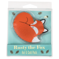 Rusty the fox cold & hot water bottle