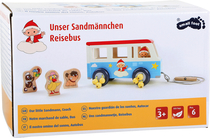 Sandman wooden car with supplies