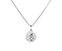 Saurum Moomin steel plate pendant, Little My