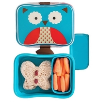 Skip Hop lunch box with an inner box, Owl