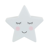 Sweet Dreams LED lamp, star
