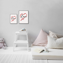 """Text poster """"Love"""", starting at 7,90€"""
